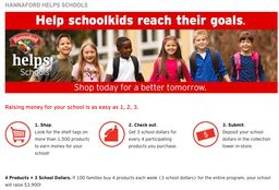 BRMS and Hannaford Helps Schools